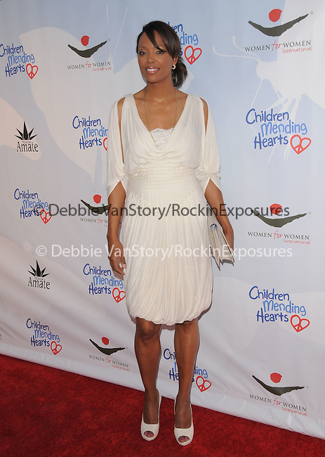 Aisha Tyler at the 3rd annual Children Mending Hearts Peace Please Gala held at  The Music Box @ Henry Fonda Theater in Hollywood, California on April 16,2010                                                                   Copyright 2010  DVS / RockinExposures