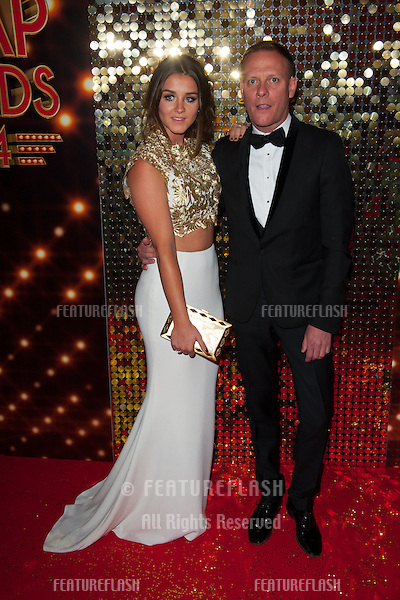 Brooke Vincent and Antony Cotton arriving for the 2014 British Soap Awards, at the Hackney Empire, London. 24/05/2014 Picture by: Dave Norton / Featureflash