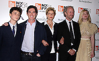 NEW YORK, NY-October 08:Lucas Jade Zumann, Billy Crudup, Annette Bening, Mike Mills, Elle Fanning, at NYFF54 Centerpiece Gala presents the World Premiere of 20th Century Women  at Alice Tully Hall in New York.October 08, 2016. Credit:RW/MediaPunch