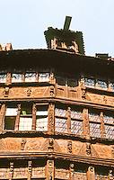 Strasbourg: Famous building--Kammerzell House--facade.
