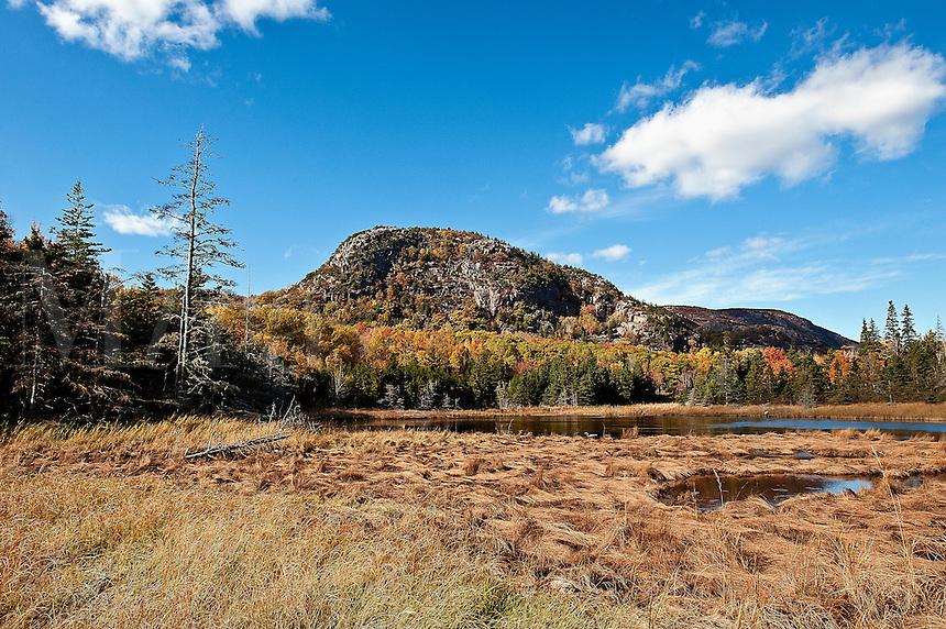Bubble Mountain, Acadia National Park, Mount Desert Island, Maine, ME, USA