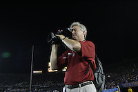 1 October 2006: Rusty Reed during Stanford's 31-0 loss to UCLA at the Rose Bowl in Pasadena, CA.