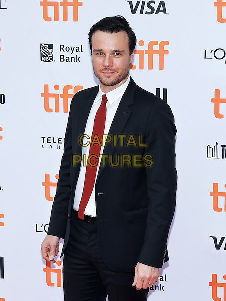 09 September 2016 - Toronto, Ontario Canada - Rupert Evans. &quot;American Pastoral&quot; Premiere - 2016 Toronto International Film Festival held at  Princess of Wales Theatre.  <br /> CAP/ADM/BPC<br /> &copy;BPC/ADM/Capital Pictures