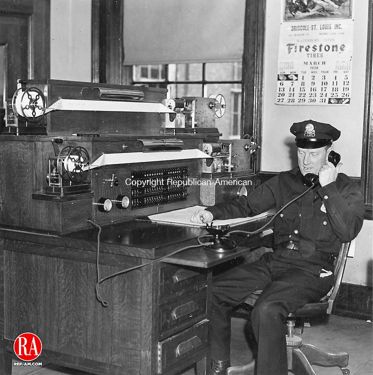 Waterbury Police Patrolman, March 1938.