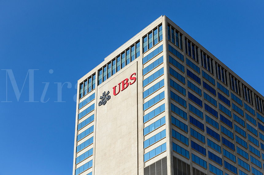 UBS financial services company office building, Nashville, Tennessee, USA.