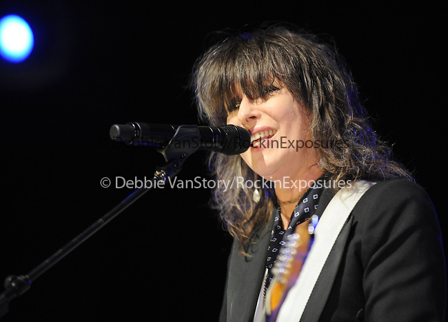 """Chrissie Hynde of The Pretenders  performs live in support of the Pretenders' new cd """"Break up the Concrete"""" at The Grove of Anaheim in Anaheim, California on March 08,2009                                                                     Copyright 2009 RockinExposures"""