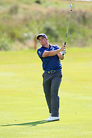Paul Dunne (IRL) on the 18th fairway to a tremendous applause  during Round 4 of Made in Denmark at Himmerland Golf &amp; Spa Resort, Farso, Denmark. 27/08/2017<br /> Picture: Golffile | Thos Caffrey<br /> <br /> All photo usage must carry mandatory copyright credit     (&copy; Golffile | Thos Caffrey)