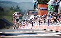 Anna van der Breggen (NLD/Rabobank-Liv) wins the 2015 Flèche Wallonne Féminine