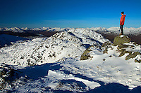 The Arrochar Alps from Ben Venue, Southern Highlands, Loch Lomond and the Trossachs National Park, Stirlingshire