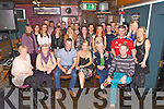 Adam O'Leary, Oakpark Tralee, celebrates his 30th birthday with family and friends at the Greyhound Bar on Saturday