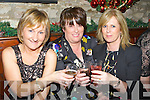 CELEBRATE: Eileen Stack, Bridie kenny and Ellen Healy who celebrated the new Year (Monday night ) in Flahive's Bar, Ballyheigue.