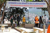 SAO PAULO, SP, 09.05.2015 - HADDAD-SP - Prefeito Fernando Haddad durante visita à ação integrada as obras dos bairros Fregueia do Ó e Brasilandia  na região norte de São Paulo neste sábado, 09. (Foto: Fernando Neves/ Brazil Photo Press)