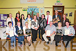 Listowel Tidy Town Awards: Pictured at the presentation of awards at St Patrick's Hall, Listowel of the annual Tidy town awards were in front : Mary O'Donoghue, Breda McGrath, Julie Gleeson, Gerry Behan, Maureen Lynch & Denise Moran. Back : Noreen O'Lerary, Brenda Heffernan, Caroline Gleeson, Mary Sobierarski, Mary O'Hanlon, Mayor Of Listowel Cllr. Tom Barry, Yvonne Quille, Killarney Tidy Towns, Cllr. Jimmy Moloney, John Galvin Margaret moore.