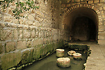 Israel, Jerusalem, the Pool of Siloam dates from 5th century Byzantine period