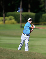 Peter Lawrie (IRL) on the 5th fairway green during Round 3 of the Maybank Malaysian Open at the Kuala Lumpur Golf & Country Club on Saturday 7th February 2015.<br /> Picture:  Thos Caffrey / www.golffile.ie