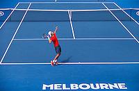 ALEX DE MINAUR (AUS)<br /> <br /> TENNIS - GRAND SLAM ITF / ATP  / WTA - Australian Open -  Melbourne Park - Melbourne - Victoria - Australia  - 27 January 2016<br /> <br /> &copy; AMN IMAGES