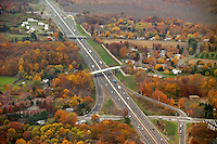 Aerial Photographs of I-95 New Haven Corridor East Shore Construction Contracts | Nov 2005