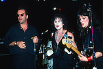 Bruce Willis, Michael Des Barres   performing live at The Roxy, Hollywood, 1986.