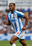 Steve Mounie of Huddersfield Town during the premier league match at the John Smith's Stadium, Huddersfield. Picture date 20th August 2017. Picture credit should read: Simon Bellis/Sportimage
