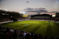 General view. New Zealand Black Caps v Australia, Final of Trans-Tasman Twenty20 Tri-Series cricket. Eden Park, Auckland, New Zealand. Wednesday 21 February 2018. © Copyright Photo: Anthony Au-Yeung / www.photosport.nz