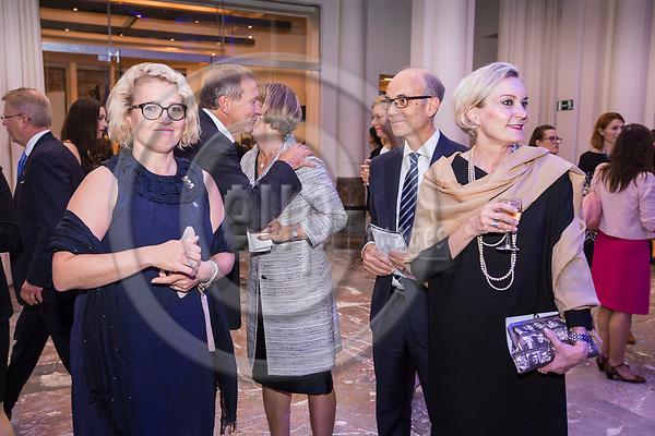 BRUSSELS - BELGIUM - 27 September 2017 -- Finland 100th Anniversary Reception and Concert of the Philharmonia Orchestra of London at the BOZAR. -- MEP Miapetra KUMPULA-NATRI. -- PHOTO: Juha ROININEN / EUP-IMAGES