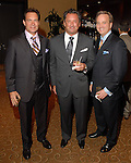 Mark Duke, Andrew Eccles and Earl Hersh at the Una Notte in Italia dinner and fashion show at the InterContinental Hotel Friday Nov. 07, 2008. (Dave Rossman/For the Chronicle)