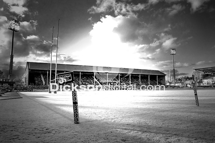 Friday 10th May 2013 - Infrared view of the The Last Stand view during the semi-final of the RaboDirect Pro 12 League between the Ulster Rugby and Scarlets at Ravenhill, Belfast. Mandatory Credit - Photo by DICKSONDIGITAL/John Dickson