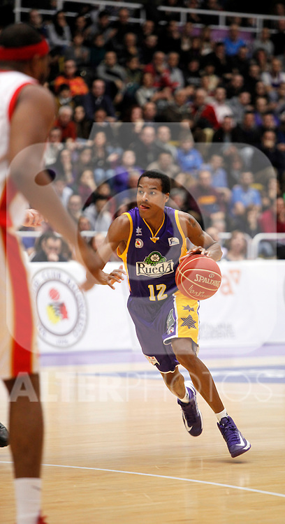 Blancos de Rueda Valladolid V CAI Zaragoza, Liga Endesa. January 13, 2013 (ALTERPHOTOS/Victor Blanco)