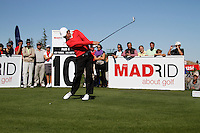 Thomas Aiken (RSA) tees off on the 10th tee during Sunday's Final Round of the Bankia Madrid Masters at El Encin Golf Hotel, Madrid, Spain, 9th October 2011 (Photo Eoin Clarke/www.golffile.ie)