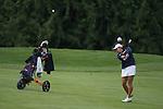 April 15, 2014; Bremerton, WA, USA; Pepperdine Waves golfer Liv Cheng during the WCC Golf Championships at Gold Mountain Golf Club.
