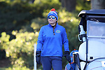 WILMINGTON, NC - OCTOBER 27: Florida assistant coach Janice Olivencia. The first round of the Landfall Tradition Women's Golf Tournament was held on October 27, 2017 at the Pete Dye Course at the Country Club of Landfall in Wilmington, NC.