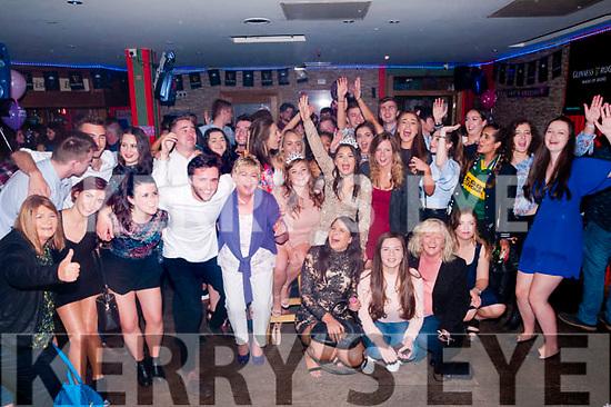 Double 21st Birthdays: Niamh Hayes & Deidre Horan, Listowel celebrating their 21st birthdays with family & friends at Christy's Bar, Listowel on Saturday night last.