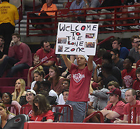 NWA Democrat-Gazette/MICHAEL WOODS &bull; @NWAMICHAELW<br /> University of Arkansas Razorbacks ve the Central Missouri Mules Friday, October 28, 2016  at Bud Walton Arena in Fayetteville.