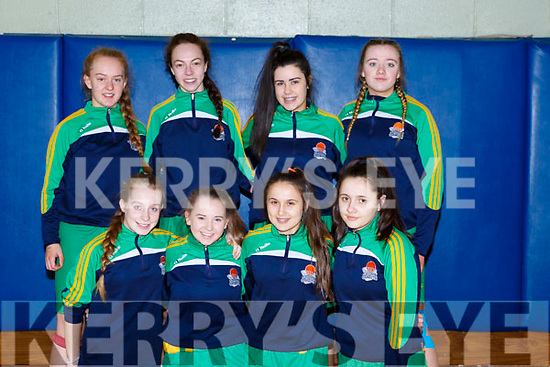 Gneeveguilla  who played Team Kerry Cobras in the Lee Strand u16 Div 2 final in Killarney on Sunday front row l-r: