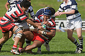 Under 18's rugby game between Counties Manukau & Auckland, played at Growers Stadium Pukekohe on September 29th 2007. Counties Manukau won the match.