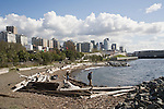 Seattle, Olympic Sculpture Park, waterfront, public beach, art, Elliott Bay, Pacific Northwest, Washington State,
