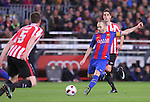 11.01.2017 Barcelona, Copa del Rey 1/8 Finals. Picture show Andres Iniesta in action during game between FC Barcelona against Athelic at Camp Nou