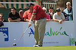 John Bickerton (ENG) tees off on the 10th tee during Day 1 Thursday of the Open de Andalucia de Golf at Parador Golf Club Malaga 24th March 2011. (Photo Eoin Clarke/Golffile 2011)