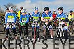 At the St Brendan's NS FENIT Coastal Cycle on Saturday were Kieran Coggins, David Fitzgerald, Tom Guerin,Sean McElligott, David Barrett