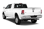 Car pictures of rear three quarter view of a 2015 Ram 2500 Laramie 4 Door Van angular rear
