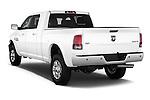 Car pictures of rear three quarter view of a 2015 Ram 2500 Laramie 4 Door Truck angular rear