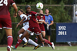 14 August 2014: South Carolina's Daija Griffin (14). The Duke University Blue Devils hosted the University of South Carolina Gamecocks at Koskinen Stadium in Durham, NC in a 2014 NCAA Division I Women's Soccer preseason match. Duke won the exhibition 2-0.