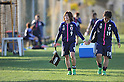(L to R) Nahomi Kawasumi (JPN), Megumi Takase (JPN), MARCH 3, 2012 - Football / Soccer : Japan team training during the Algarve Women's Football Cup 2012, at Browns Sports & Leisure Club.  .(Photo by Atsushi Tomura/AFLO SPORT) [1035]