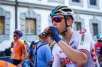 Picture by Alex Whitehead/SWpix.com - 28/09/2018 - Cycling - UCI 2018 Road World Championships - Innsbruck-Tirol, Austria - U23 Men's Road Race - Mark Downey of Great Britain.