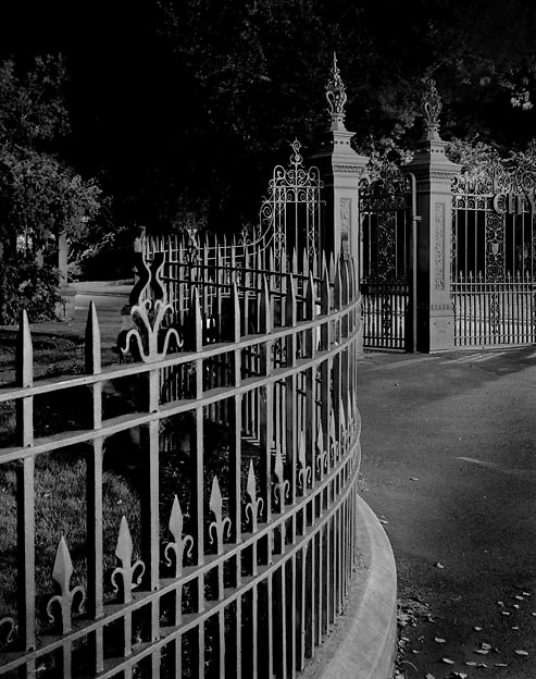 City Park Fence & Gate<br />