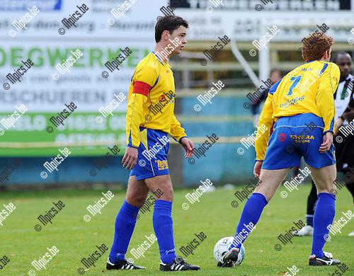 11-11-29 / Voetbal / seizoen 2011-2012 / KSV Schriek - Belgica Edegem / Jelle De Roovere..Foto: Mpics