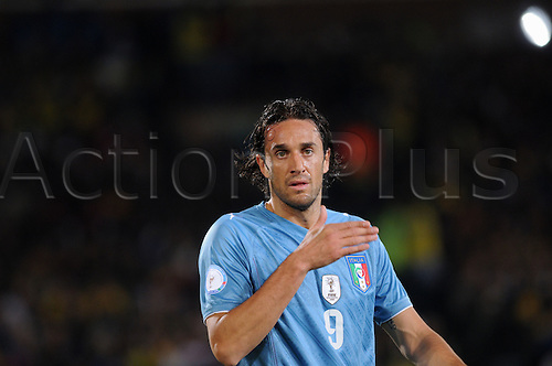 Luca Toni (ITA), JUNE 21, 2009 - Football : FIFA Confederations Cup match between Italy and Brazil at the Loftus Versfeld Stadium in Pretoria, South Africa. (Photo by Maurizio Borsari/ActionPlus) UK Licenses Only