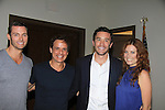 "Eric Marstolf - Christian LeBlanc - Melissa Archer at Southwest Florida SoapFest's Celebrity Weekend cames to see Tom Pelphrey doing A Night at the Theatre performing ""My Italy Story"" benefitting the Apothecary Theatre Company at the Rose History Auditorium on November 11, 2012 in Marco Island, Florida. (Photo by Sue Coflin/Max Photos)"