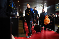 Alex Davies and the rest of the Bath Rugby team arrive at the Stade Ernest Wallon. Heineken Champions Cup match, between Stade Toulousain and Bath Rugby on January 20, 2019 at the Stade Ernest Wallon in Toulouse, France. Photo by: Patrick Khachfe / Onside Images