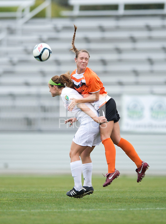 Michelle Moll, Molly Bruh.  The Charlotte Lady eagles defeated the Long Island Rough Riders, 4-0, to advance to the W-League Eastern Conference Championship.
